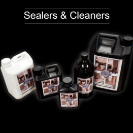Sealers, Cleaners & Bonds